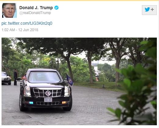 [사진 트럼프 대통령 트위터]