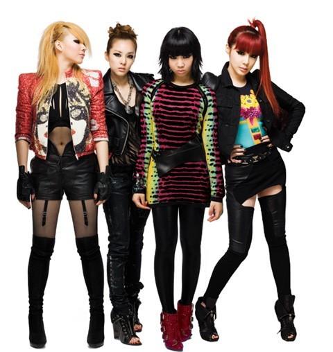 2NE1. Photo from YG Ent.