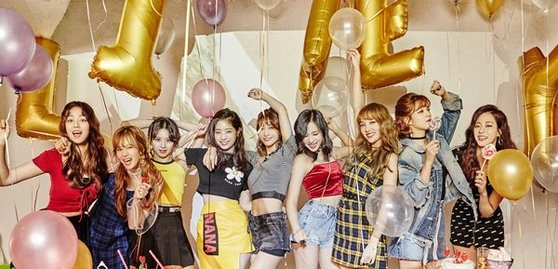 TWICE. Photo from JYP Ent.