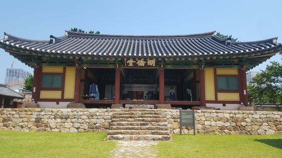 울산 중구 교동에 있는 울산향교의 명륜당. 조선시대 중등교육기관의 교실이다. 최은경 기자