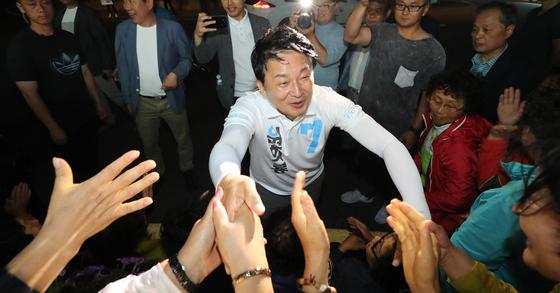 원희룡 무소속 제주지사 후보 [뉴스1]
