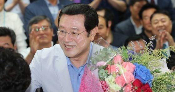 이용섭 더불어민주당 광주광역시장 후보. [연합뉴스]