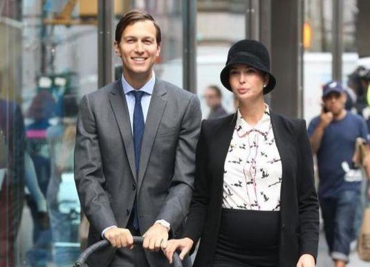 도널드 트럼프 미국 대통령의 장녀 이방카 트럼프와 사위 재러드 쿠슈너. [중앙포토]