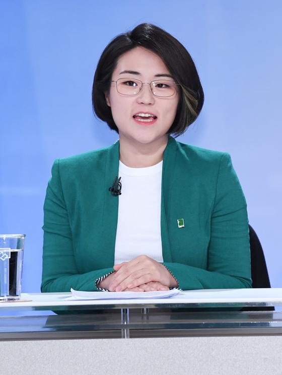 신지예 녹색당 서울시장 후보 [사진공동취재단]