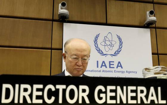 유키야 아마노 IAEA 사무총장 [AP=연합뉴스]