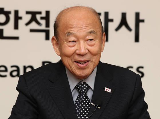 박경서 대한적십자사 회장.[연합뉴스]