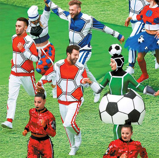'지구촌 축구 축제' 러시아 월드컵 개막