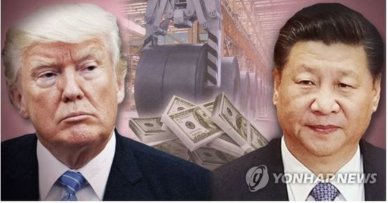 도널드 트럼프 미국 대통령과 시진핑 중국 국가주석. [연합뉴스]