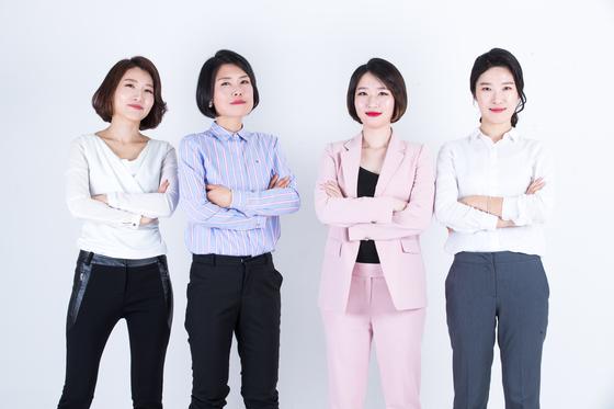 구의원에 무소속 출마했던 우정이, 김정은, 곽승희, 차윤주 후보(왼쪽부터). [사진 구의원프로젝트]