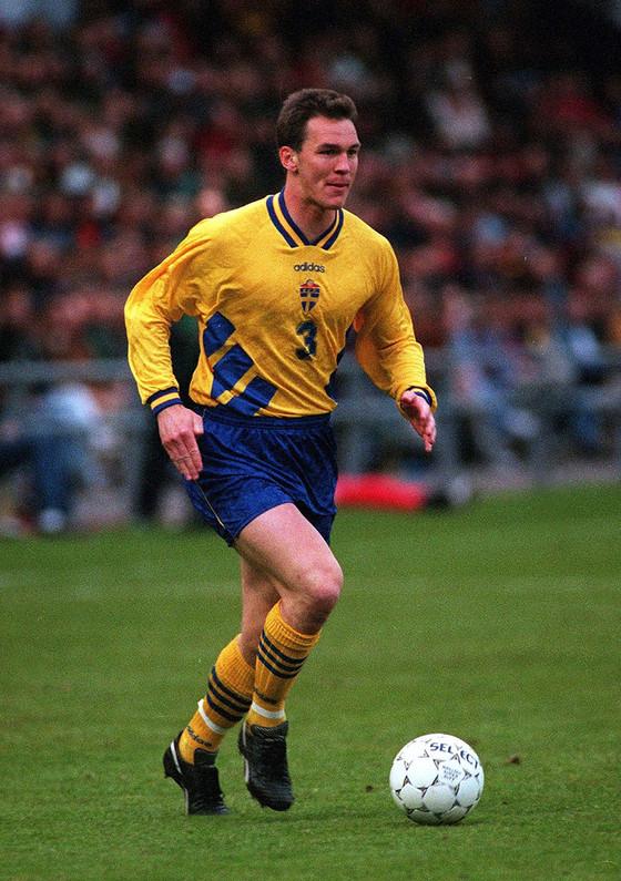 스웨덴 대표팀 활약 당시 파트리크 안데르손. [사진 플리커]