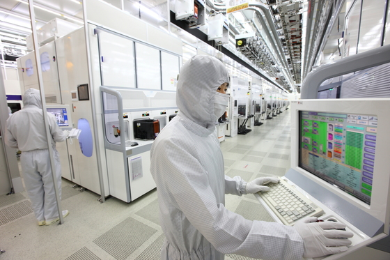 삼성전자 반도체 공장. [중앙포토]