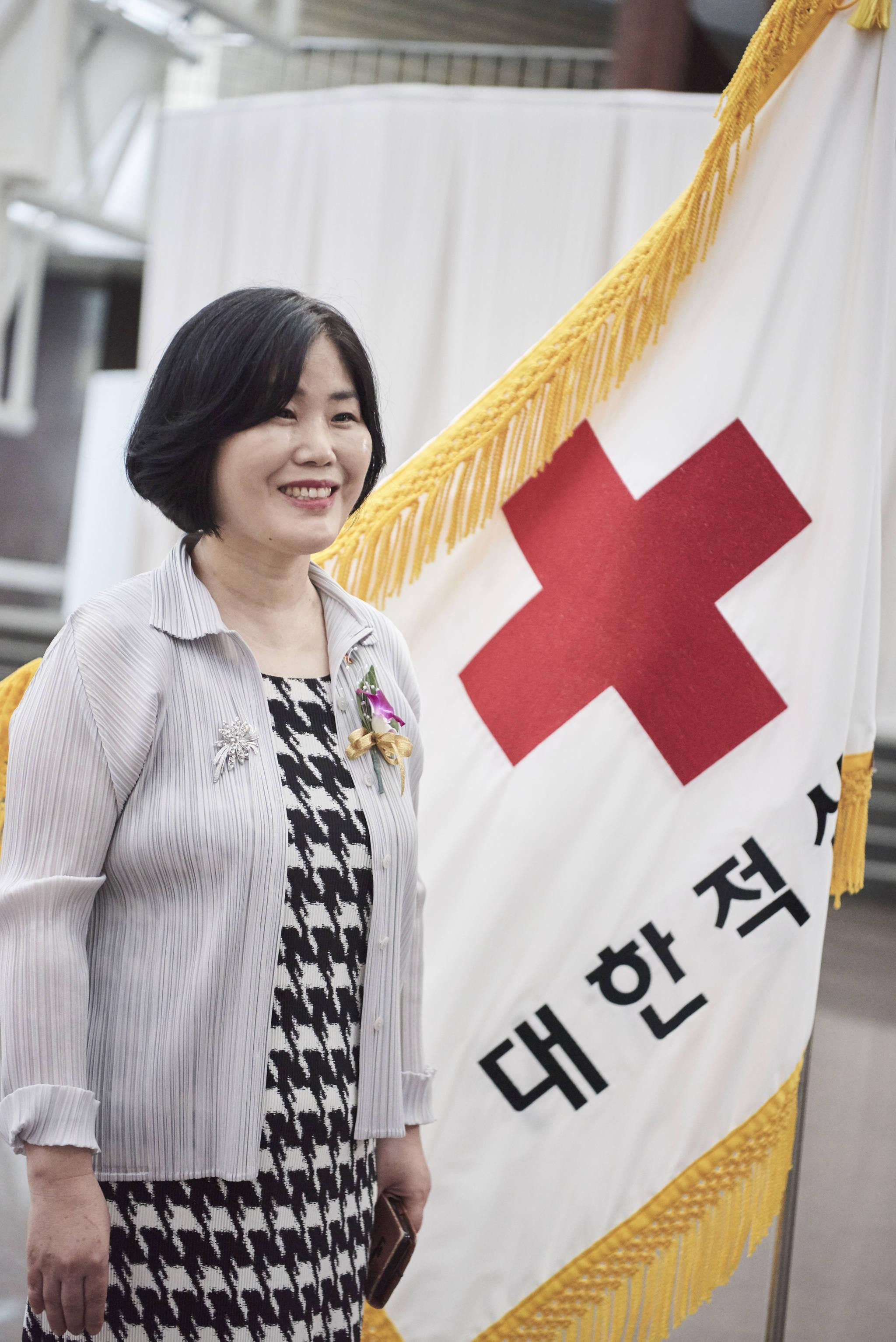 14일 헌혈자의 날을 맞아 중앙일보와 인터뷰한 김명한 대한적십자사 혈액관리본부장. [사진 대한적십자사]
