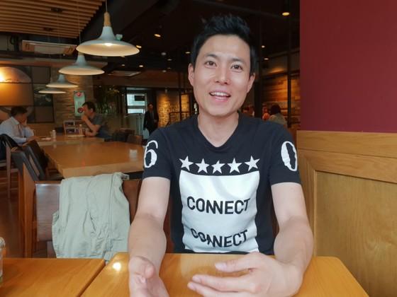 지난 14일 서울 종로에서 만난 이정훈씨. 여성국 기자