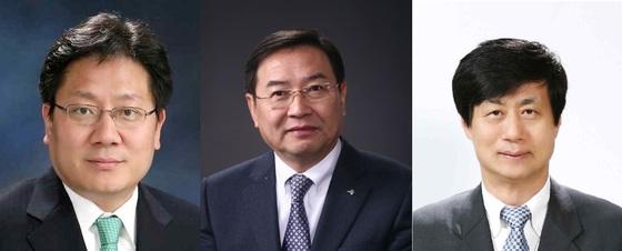 서울대 총장 후보인 강대희 교수(왼쪽), 이건우 교수(가운데), 이우일 교수. [중앙포토]