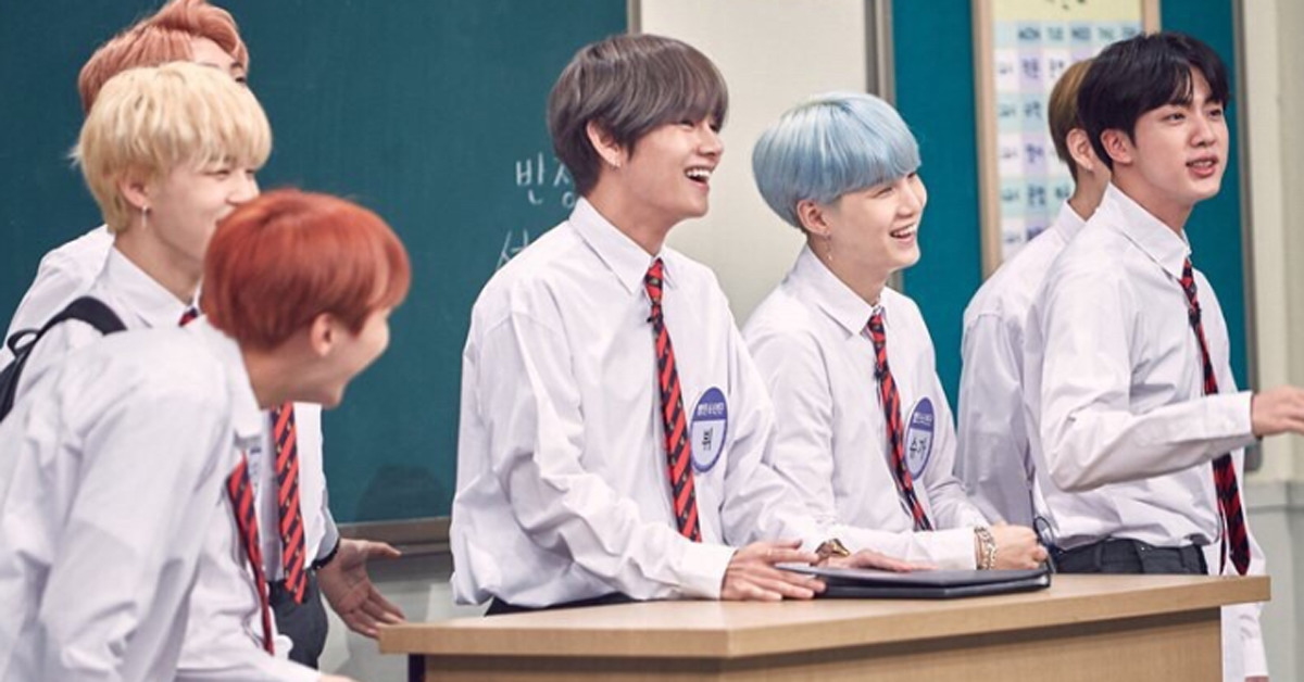 BTS on 'Knowing Bros', Photo from JTBC