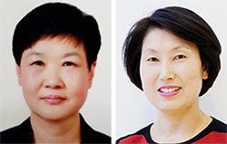 권인순(左), 조영이(右)