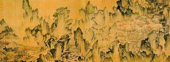 안견의 몽유도원도(1447). [중앙포토]