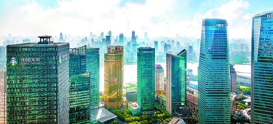 세계에서 금융 자유화 지수가 가장 높은 홍콩. [중앙포토]