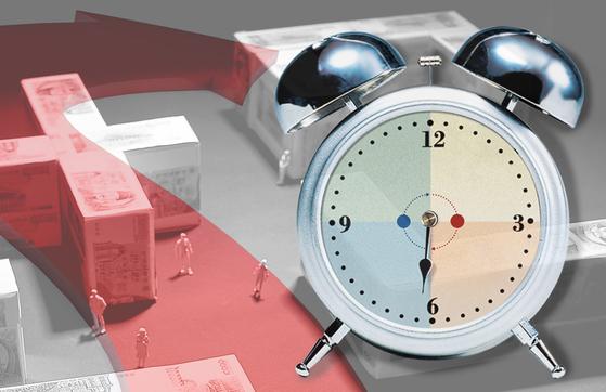시간의 힘을 믿고 장기적인 안목으로 투자하는 것을 장기투자라 한다. 장기투자의 수익은 투자 기간 마지막 단계에서 50% 이상 발생한다는 것이 일반적이다. [중앙포토]