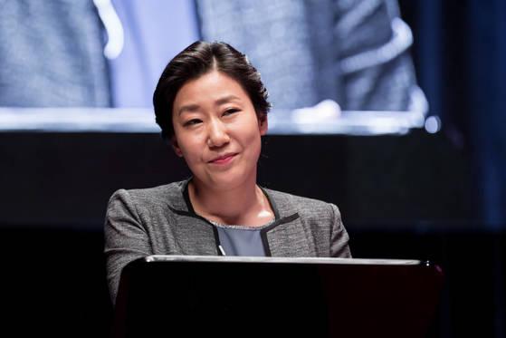 변종구의 라이벌이자 유일한 여성 후보자인 양진주 역을 맡은 배우 라미란. [중앙포토]