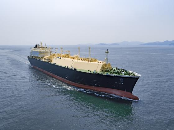 대우조선해양이 건조한 LNG운반선