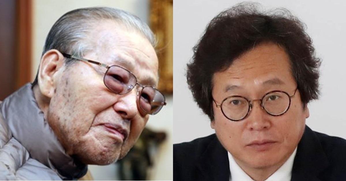 김종필 전 총리(왼쪽)와 황교익씨. [연합뉴스]