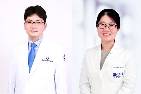 이봉진 충남대병원 소아청소년과 교수(왼쪽), 김민선 서울대병원 소아청소년과 교수