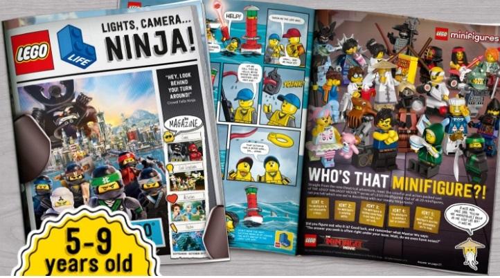 블럭 제조사 레고는 5~9세 대상 어린이들을 위한 잡지 '레고클럽 매거진'을 발행한다. 레고 관련 뉴스와 인터뷰, 레고 팬들이 만든 작품 등을 게재한다. 10세 이상 청소년을 위한 레고라이프매거진도 있다. [사진 레고]