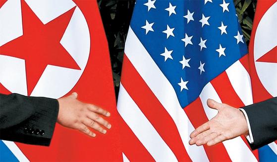 6월 12일 북·미 정상회담에서 두 정상이 손을 잡기까지는 숱한 곡절이 있었다.