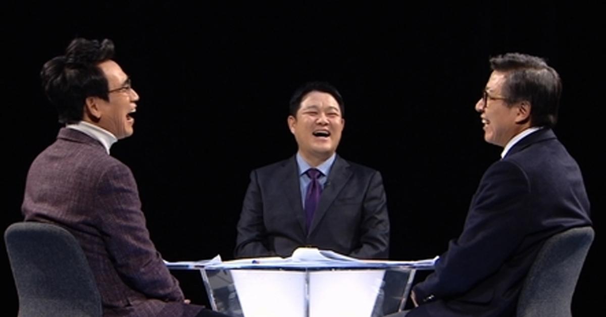 방송인 김구라가 유시민 작가의 JTBC '썰전' 하차를 아쉬워했다. [사진 JTBC 캡처]
