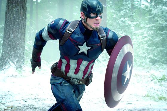마블 히어로들의 리더인 스티브 로저스(캡틴 아메리카). 제 멋대로이며 개성 강한 다른 히어로들도 올곧은 신념과 바른 품성을 가진 그 앞에선 선한 팀원이 된다. [영화 어벤저스]