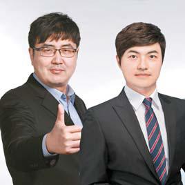 스탁인베스트먼트 임요한 전문가(왼쪽) 와 김재일 전문가.