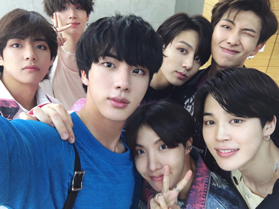 Photo from BTS Official Weibo