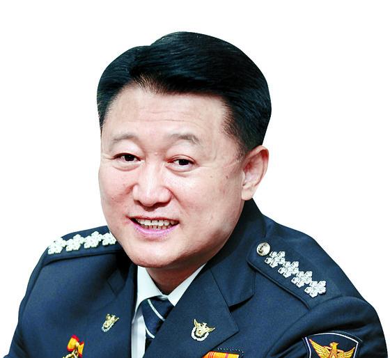 29일 퇴임식을 한 이철성 경찰청장. [연합뉴스]