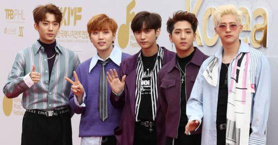 그룹 B1A4. [연합뉴스]
