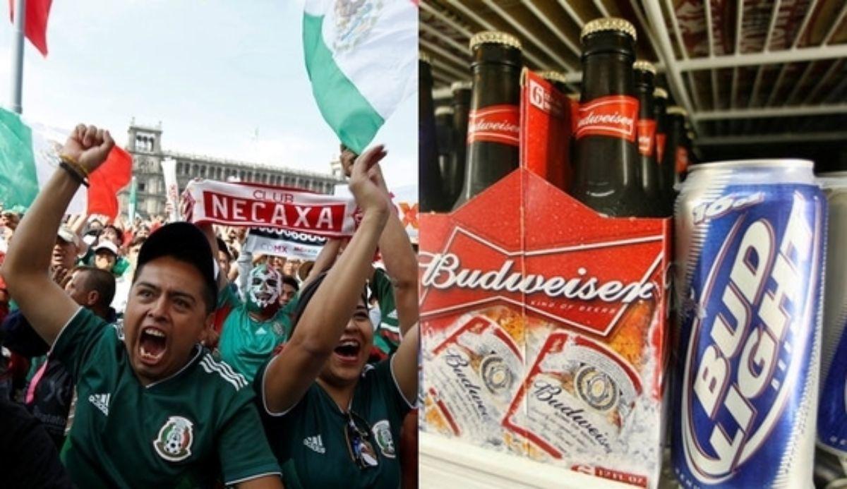 맥주회사 버드와이저가 자사의 라이트 브랜드 '버드 라이트' 트위터 계정을 통해 멕시코가 16강전에서 브라질을 꺾으면 미국 캘리포니아 주 주민에게 맥주를 공짜로 제공하겠다고 공약했다. [로이터=연합뉴스]