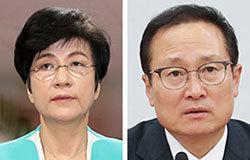김영주(左), 홍영표(右)