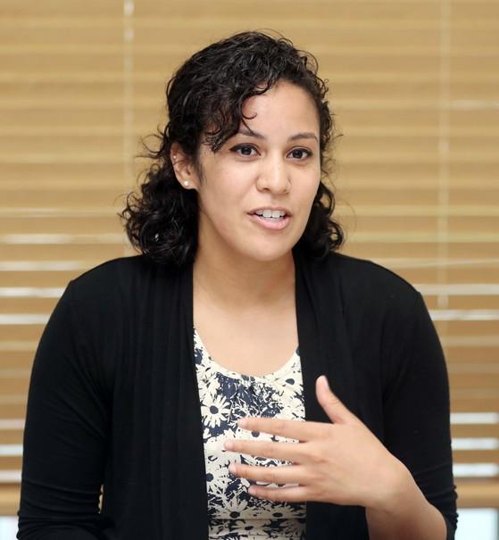 제이미 주니가(Jaymie Zuniga, American) / 미국 워싱턴 대학(University of Washington, 역사학 전공) / 교육 자격증 : TESOL / 한국 거주: 2 년6개월 / 영어교육경력 : 3 년 [변선구 기자]