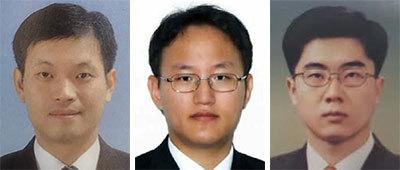 이언학, 허경호, 박범석.(왼쪽부터)