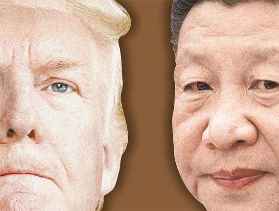미국이 6일 오전 0시 01분(미국 동부시간 기준) 340억 달러(약38조원) 규모의 중국산 제품 818개 품목에 대해 25% 관세 부과를 시작했다. [연합뉴스]