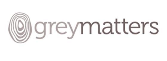 그레이매터(Greymatters) 로고. [사진 그레이매터 홈페이지(https://www.greymatterstous.com/)]