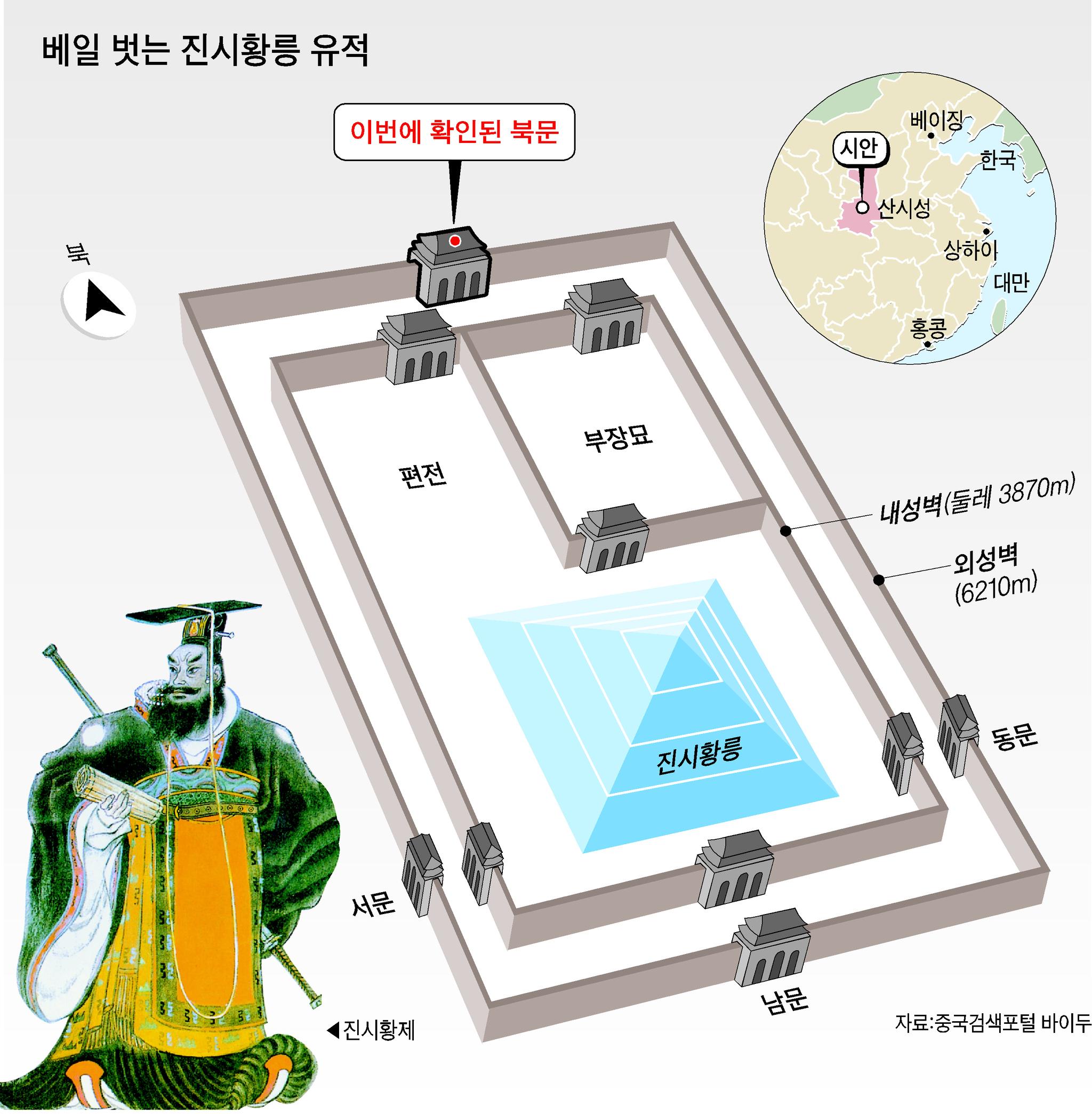 진시황릉 유적 [중앙포토]