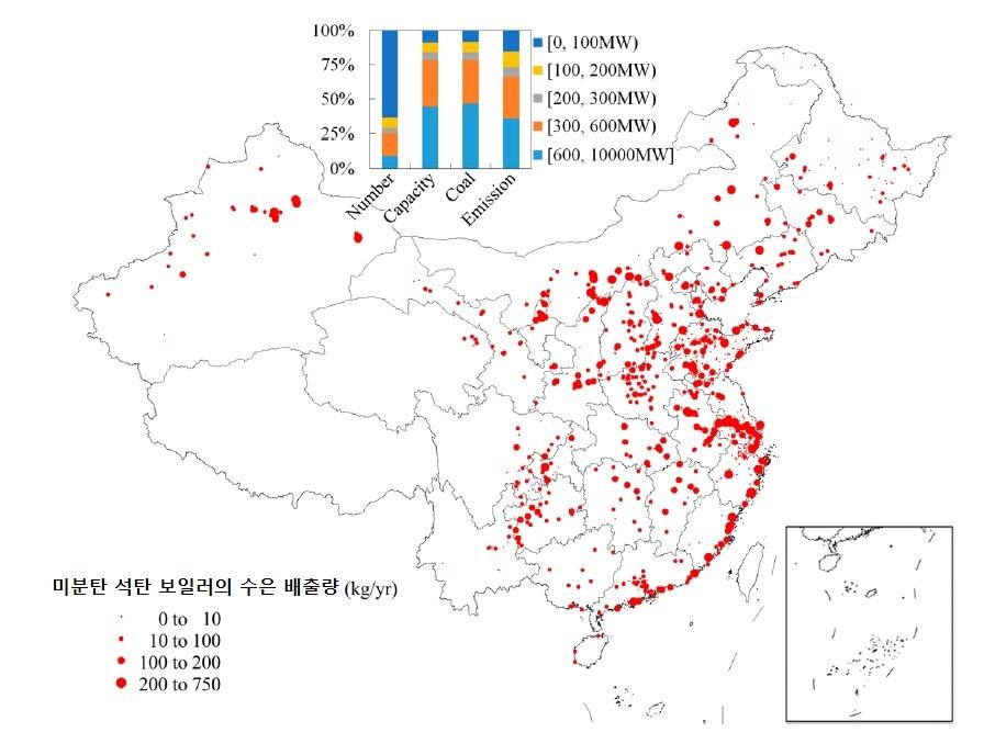 중국 석탄발전소 수은 배출 [중앙포토]