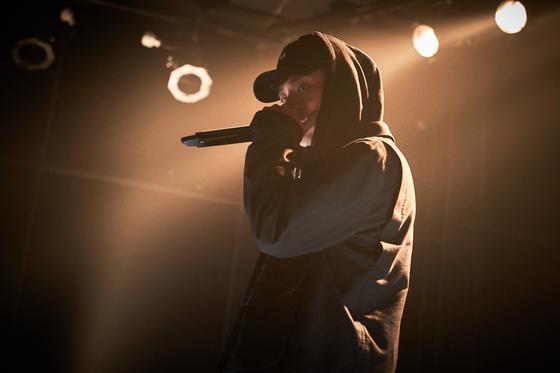 '변산'에서 박정민이 부른 랩 가사는 그가 직접 썼다. [사진 메가박스중앙플러스엠]