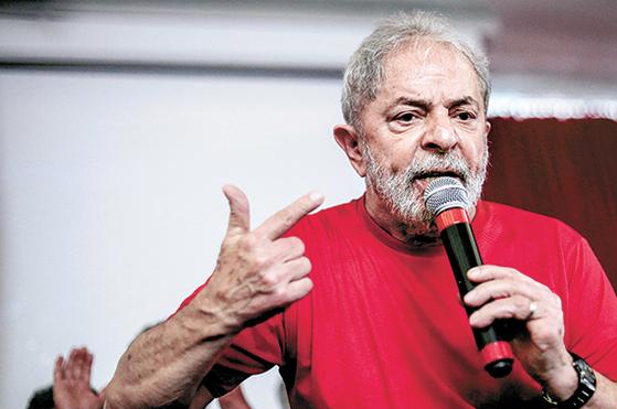 루이스 이나시우 룰라 다 시우바 브라질 전 대통령. [신화=연합뉴스]