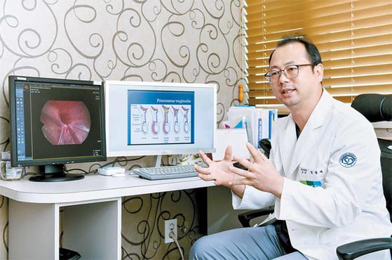 소아 탈장은 선천적 원인으로 생기는 외과 질환으로 수술이 유일한 치료법이다. 발견 즉시 병원에서 진단을 받아야 한다. 프리랜서 김동하