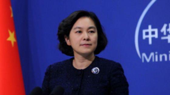 화춘잉 중국 외교부 대변인 [사진 : 중국 외교부 홈페이지]