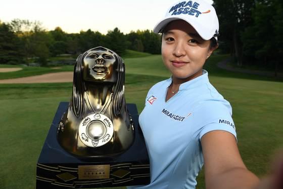 김세영은 LPGA투어에서 버디와 이글을 많이 잡는 선수 중 한 명으로 손꼽힌다. [AFP=연합뉴스]