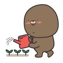 여러 곳에 골고루 씨앗을 뿌려야지.