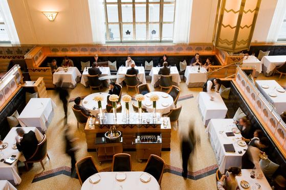 뉴욕의 베스트 레스토랑으로 꼽히는 일레븐 매디슨 파크. [사진제공=월드50 베스트 레스토랑]